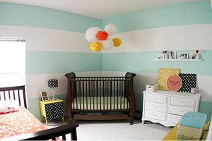 Fun and colour in a child's bedroom