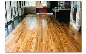 Zebra wood floor