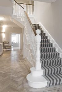 hall stairs and landing floors