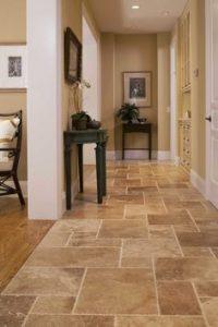tiles hallway
