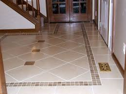 Hallway Floor Tile Traditional House