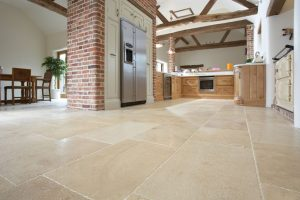 Natural Stone in Open Plan Living