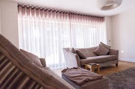 Waave curtains in living room