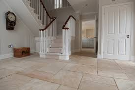 natural stone in the hallway