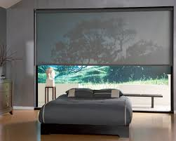 screen roller blinds bedroom