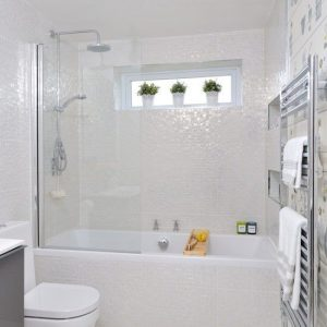 tiled family bathroom